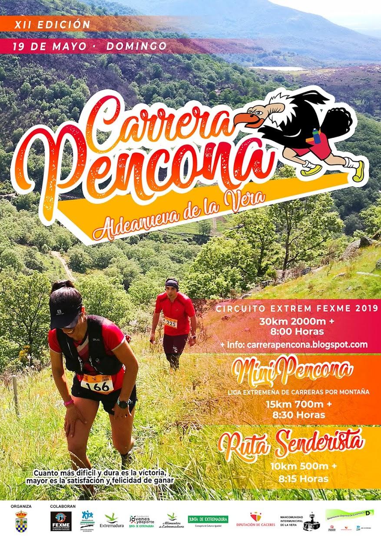 XII Carrera Pencona el 19 de Mayo de 2019