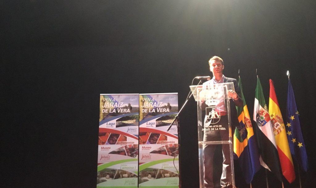 El alcalde Jaraíz, Luis Miguel Núñez