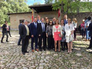 Alcaldes de La Vera en el Premio Carlos V