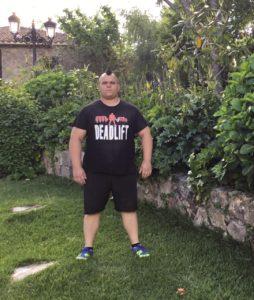 Daniel Castaño, Liga Nacional de Fuerza
