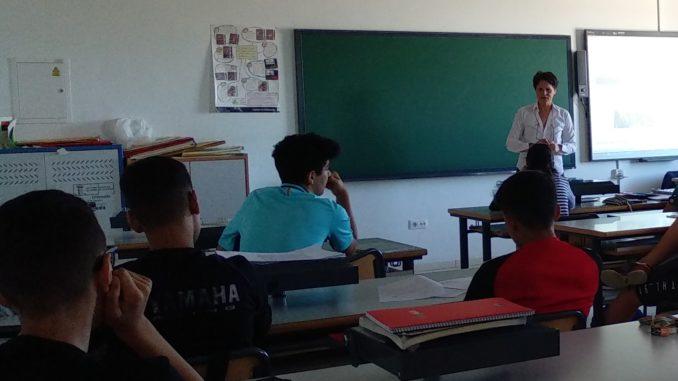 Periodismo y redes sociales con alumnos de la ESO en Losar