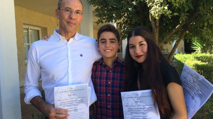 Jesús Manjón, Claudia Rodríguez y Juan Sánchez