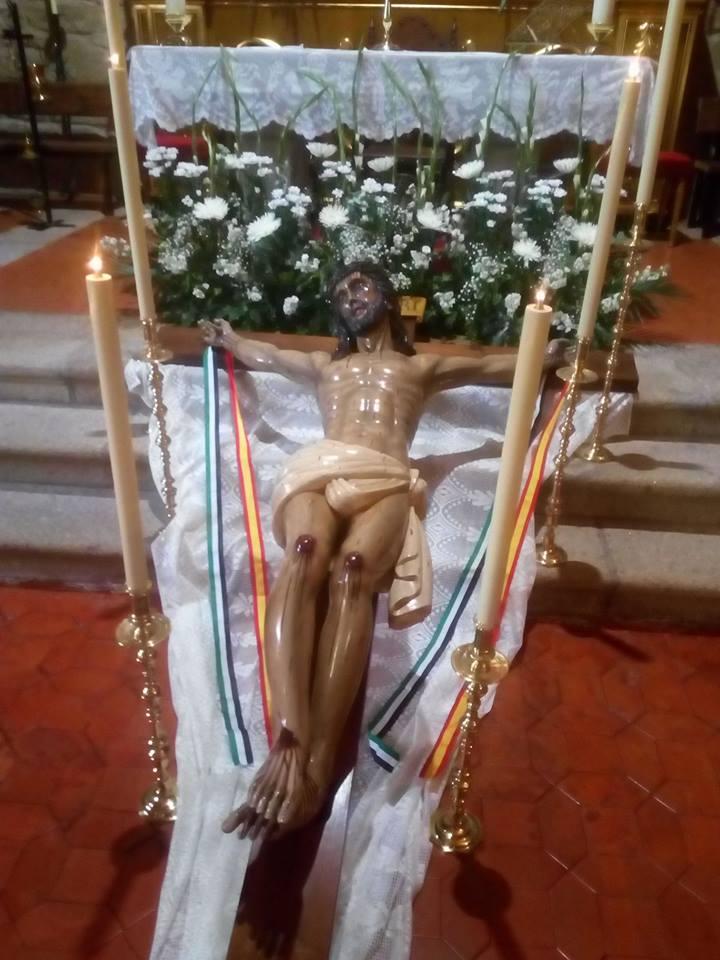 Quinario y fiestas del Stmo Cristo de la Misericordia de Torremenga de la Vera