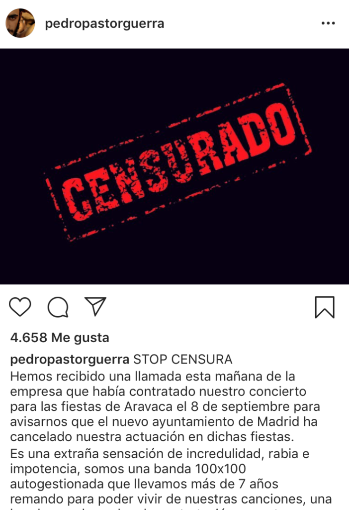 Pedro Pastor, instagram