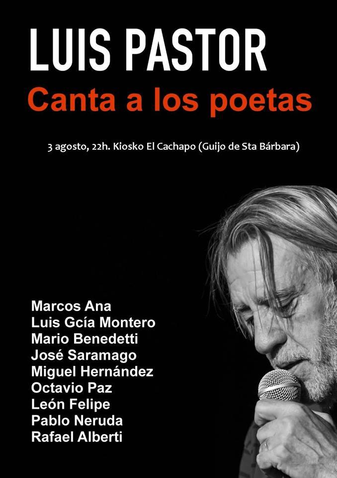 Luis Pastor en La Vera, conciertos