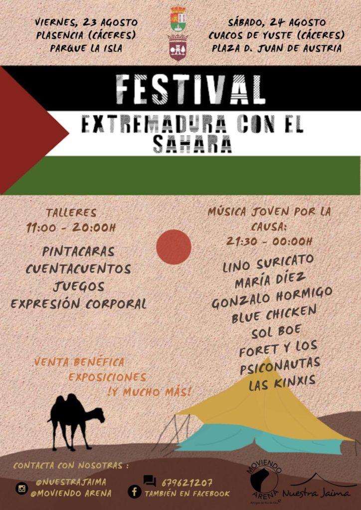Extremadura con el Sahara