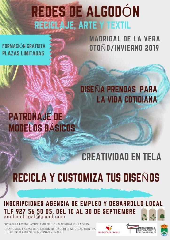 redes de algodón