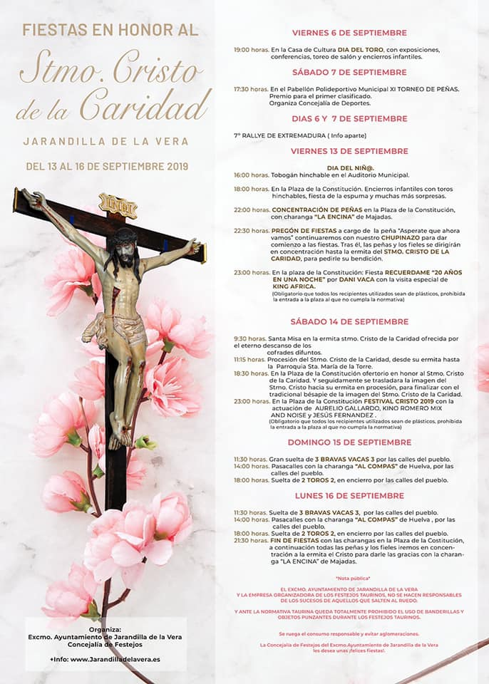 Fiestas del Cristo de la Caridad en Jarandilla