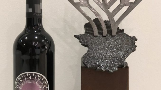 El vino cacereño Cavea 2014, de Bodegas Carabal, Espiga de Oro en tinto crianza-reserva