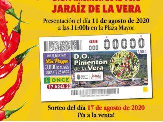 Hoy se presenta el cupón de la ONCE dedicado a Jaraíz